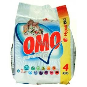 Omo Supreme 12 prací prášek na bílé prádlo 40 dávek 4 kg