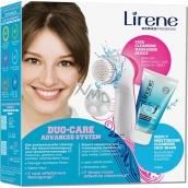 Lirene Duo-Care Advanced System čistící gel 150 ml + přístroj na čištění pleti 1 kus, dárková sada