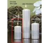 Lima Stuha svíčka bílá válec 50 x 100 mm 1 kus