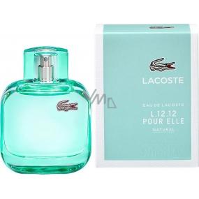 Lacoste Eau de Lacoste L.12.12 Pour Elle Natural toaletní voda pro ženy 90 ml