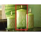 Lima Savana svíčka zelená válec 80 x 150 mm 1 kus