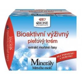 Bione Cosmetics Bio Minerály Mrtvého moře Bioaktivní výživný pleťový krém 51ml