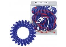 Invisibobble Universal Blue Gumička do vlasů modrá spirálová 3 kusy limitovaná edice