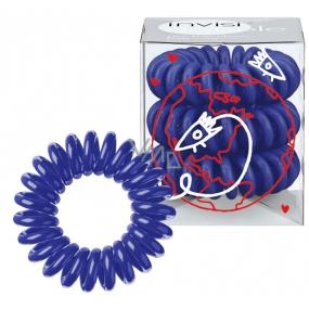 Invisibobble Universal Blue limitovaná edice 3 modrých gumiček