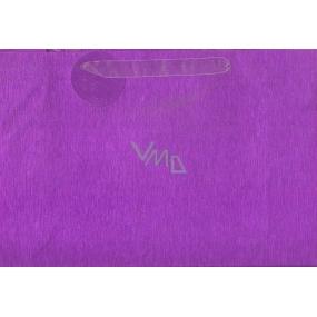 Nekupto Dárková papírová taška střední 18 x 23 cm Fialová glitrová 034 33 QM