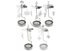 Andělské zvonění nikl na čajovou svíčku 65 x 160 mm