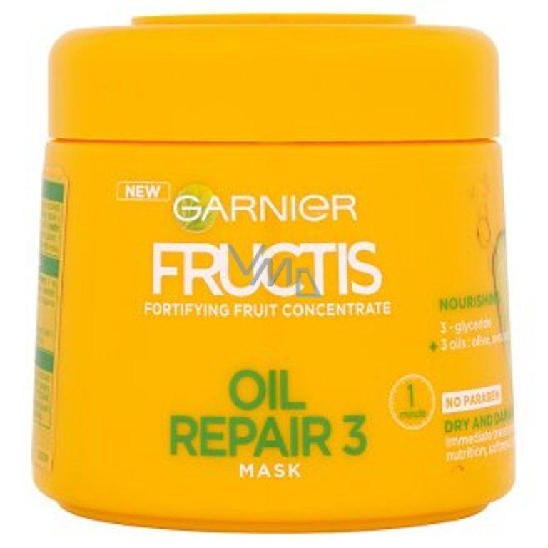 Garnier Fructis Oil Repair 3 posilující maska na suché vlasy 300 ml - VMD  parfumerie - drogerie 4cd621bd669