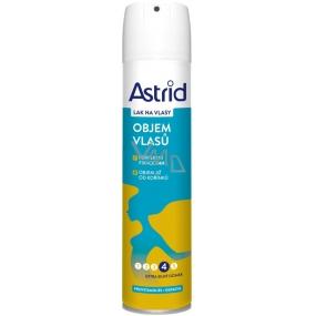 Astrid Objem vlasů od kořínků lak na vlasy extra silný účinek 250 ml