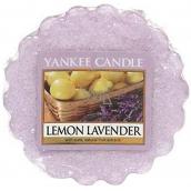 Yankee Candle Lemon Lavender - Citrón a levandule vonný vosk do aromalampy 22 g