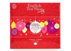 English Tea Shop Bio Červené ovoce 96 nálevových sáčků dárková kazeta čajů