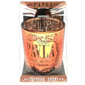 Albi Třpytivý svícen ze skla na čajovou svíčku PAVLA, 7 cm