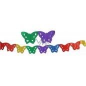 Girlanda Motýlci 400 x 16 cm