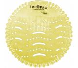 Fre Pro Wave Citrus vonné sítko do pisoáru žluté 19 x 20,3 x 1,9 cm 52 g