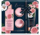 Baylis & Harding Čerstvé růže sprchový krém 300 ml + tělové mléko 200 ml + šumivý balistik do koupele 2 x 70 g, kosmetická sada