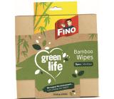 Fino Green Life Hadřík utěrka bambus multifunkční 35 x 35 cm 3 kusy