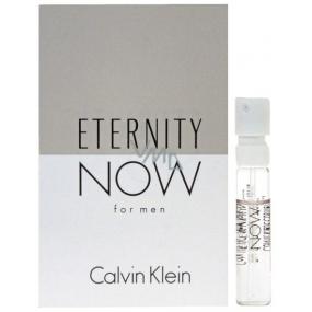 Calvin Klein Eternity Now Man toaletní voda pro muže 1,2 ml s rozprašovačem, Vialka