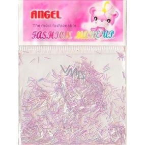 Angel Ozdoby na nehty pásky bílé 2 g