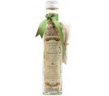 Bohemia Gifts & Cosmetics Heřmánek Koupelová sůl s bylinami heřmánek, mateřídouška a měsíček a filtračním sáčkem 260 g skleněný obal
