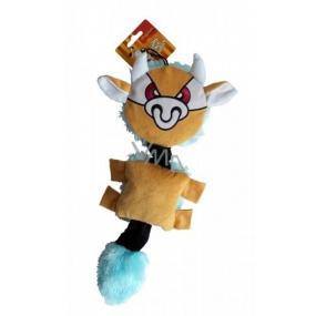 Magnum Plyš Býček pískací hračka pro psy nebo štěňata 43 - 53 cm