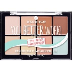 Essence You Better Work! paletka korektorů 8 g