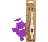 Jack N Jill BIO Hrošík extra měkký zubní kartáček pro děti, rozložitelný v přírodě, vyrobený z kukuřičného škrobu, bez BPA a PVC
