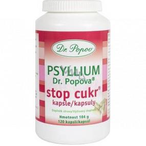 Dr. Popov Psyllium Stop Cukr kapsle 120 kusů 104 g