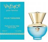 Versace Dylan Turquoise Hair Mist vlasová mlha s rozprašovačem pro ženy 30 ml