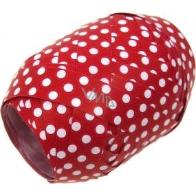 Nekupto Klubíčko Luxus červená s bílým puntíkem 161 30 KB 10 m