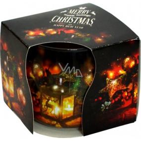 Admit Christmas Lucerna aromatická svíčka ve skle 100 g