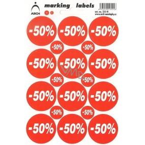 Arch Slevové etikety -50% 255-R