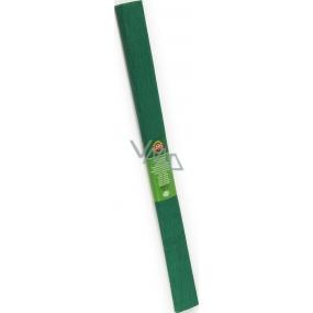 Koh-i-Noor krepový papír č.19/9755 tmavě zelený 50 x 200 cm