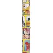 Disney postavičky Balicí papír žlutý 70 x 200 cm
