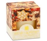 Heart & Home Vánoční koření Sojová vonná svíčka bez obalu hoří až 15 hodin 53 g