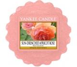 Yankee Candle Sun Drenched Apricot Rose - Vyšisovaná meruňková růže vonný vosk do aromalampy 22 g