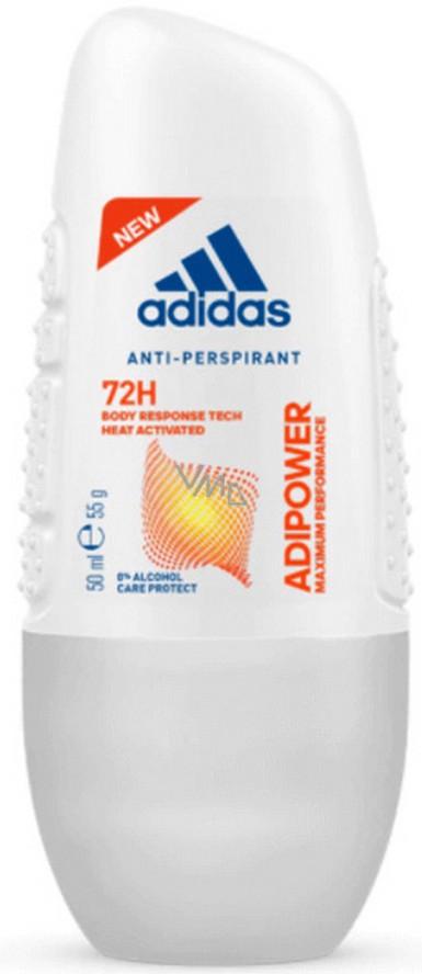 Adidas Adipower 72h Kuličkový Antiperspirant Deodorant Roll On Pro