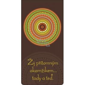 Albi Magnetická záložka do knížky Barevná mandala 8,7 x 4,4 cm