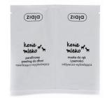 Ziaja Kozí mléko parafínový peeling a maska na ruce 2 x 7 ml