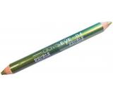 Princessa Davis Eye Double Colour oční stíny v tužce 04 světle zelená a tmavě zelená 6 g