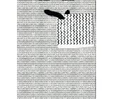 Nekupto Dárková papírová taška malá 14 x 11 x 6,5 cm Černobílá 1616 02 KFS