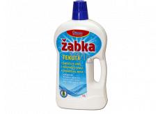 Žabka tekutá, mycí, čisticí a změkčovací přípravek 1 l