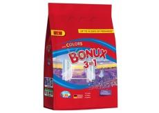 Bonux Color Caring Lavender 3v1 prací prášek na barevné prádlo 20 dávek 1,5 kg