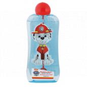 Paw Patrol Tlapková patrola koupelový a sprchový gel bublinkový s bublifukem pro děti 200 ml