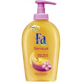 Fa Sensual & Oil Monoi Blossom tekuté mýdlo 300 ml