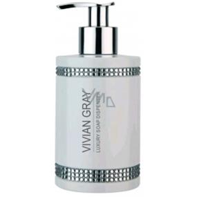 Vivian Gray Crystal White luxusní hydratační tekuté mýdlo 250 ml