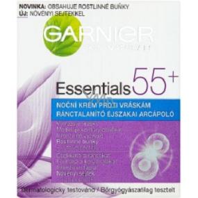 Garnier Skin Naturals Essentials 55+ noční krém proti vráskám 50 ml