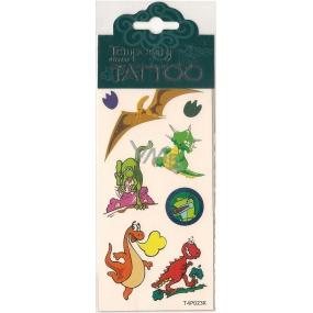 Tetovací obtisky dětské zvířátka T4P023K 7,5 x 15 cm