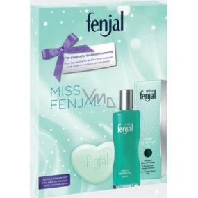 Fenjal Miss parfémovaný deodorant fluid 100 ml + krémové mýdlo 90 g + masážní rukavice 1 kus, kosmetická sada