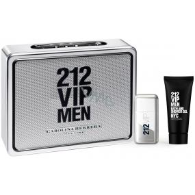 Carolina Herrera 212 VIP Men toaletní voda 50 ml + sprchový gel 75 ml, dárková sada