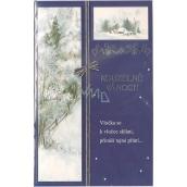 Nekupto Hrací přání k Vánocům Vánoční melodie Tichá noc 210 x 136 mm, 3283 Y
