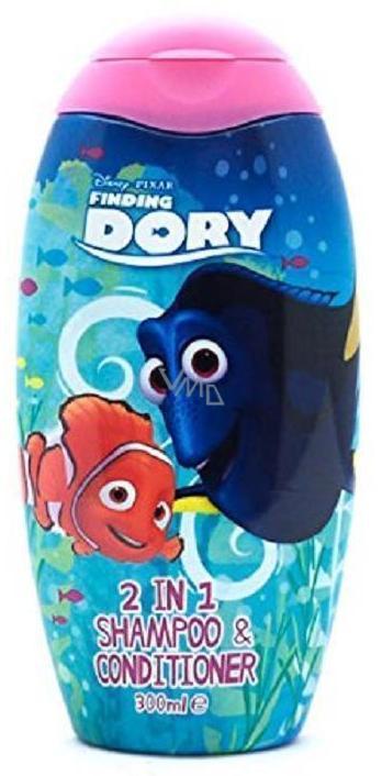 Disney Hledá se Dory 2v1 šampon a kondicionér pro děti 300 ml